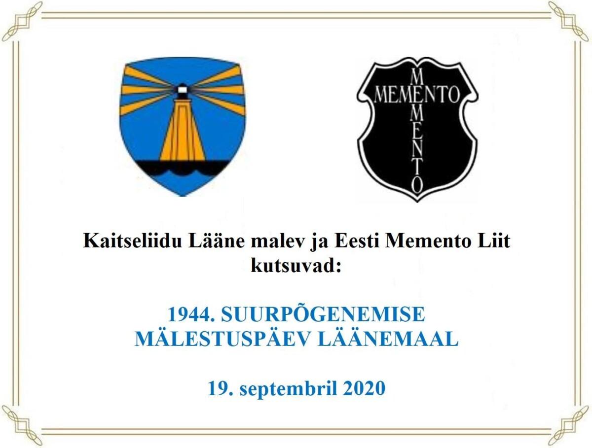 Paadipõgenike mälestussamba avamine Puise rannal 19.09.2020